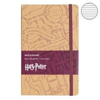 Фото Блокнот Moleskine Harry Potter средний бежевый LEHPBQP060