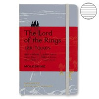 Фото Блокнот Moleskine Lord of the Rings маленький голубой LELRMM710IS