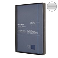 Блокнот Moleskine Limited Edition Leather средний синий LCLH31HB41BOX